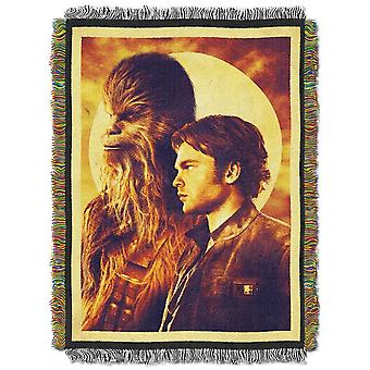 Woven Tapestry Throws - Star Wars HanSolo - Two Pirates New 024448