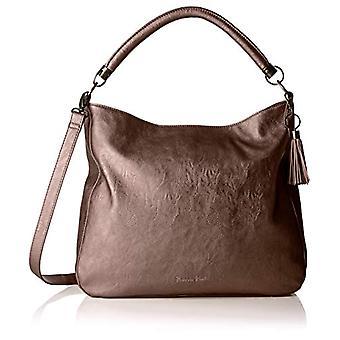 Fritzi aus Preussen HANNA Brown Shoulder Bag (Brown (Dark Bronze 166/Saddle)) 11.5x36x36 cm (B x H x T)