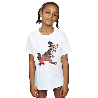 Disney Girls Three Little Pigs Big Bad Wolf T-Shirt