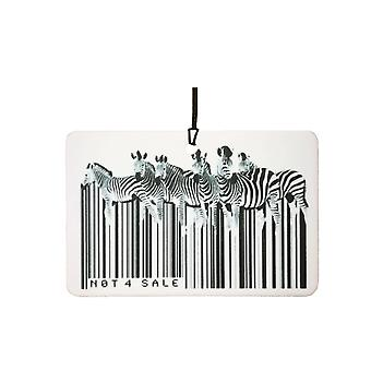 Zebra stregkode bil luftfriskere