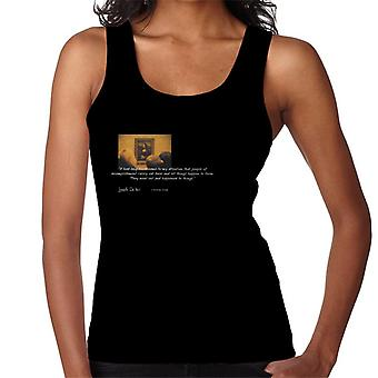 A.P.O.H Leonardo Da Vinci Mona Lisa People Of Accomplishment Quote Women's Vest