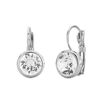 Traveller drop earring - Leverback - rhodium palted - 157043