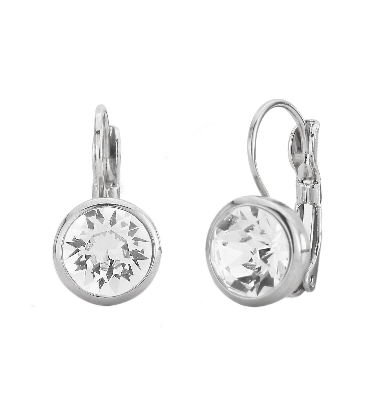 Traveller drop earring - Leverback - rhodium palted - 157043