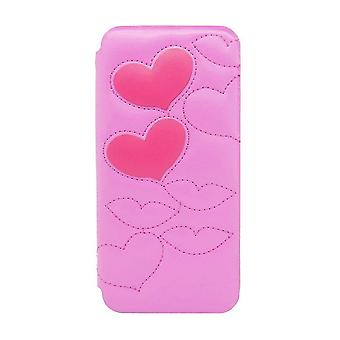 iPhone 6/6s - 4.7 Inch Quilted Sweet Kiss Folio Hard Shell