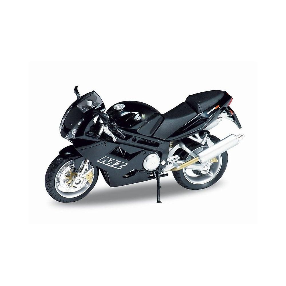 Welly Model  MZ 1000S Motorbike, Black  1:18