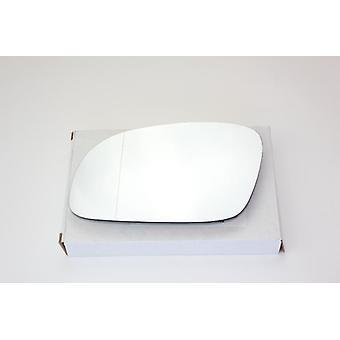 Left Passenger Mirror Glass (Heated) & Holder For Volkswagen BEETLE 2002-2010