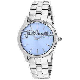 Just Cavalli Women's Logo Blue Dial Watch - JC1L006M0065