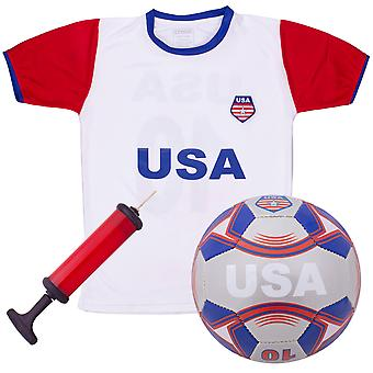USA Kids Soccer Kit - X-Large