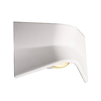 LED wall-mounted lamp Fly II 3.5W 3000 K 240x170mm made of plaster white spreadable dimmable IP20