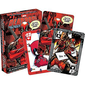 Speelkaart-Marvel-Deadpool Comics Toys Poker gelicentieerd 52339