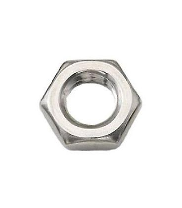 M24 A4 Stainless Steel Half Nut Din439