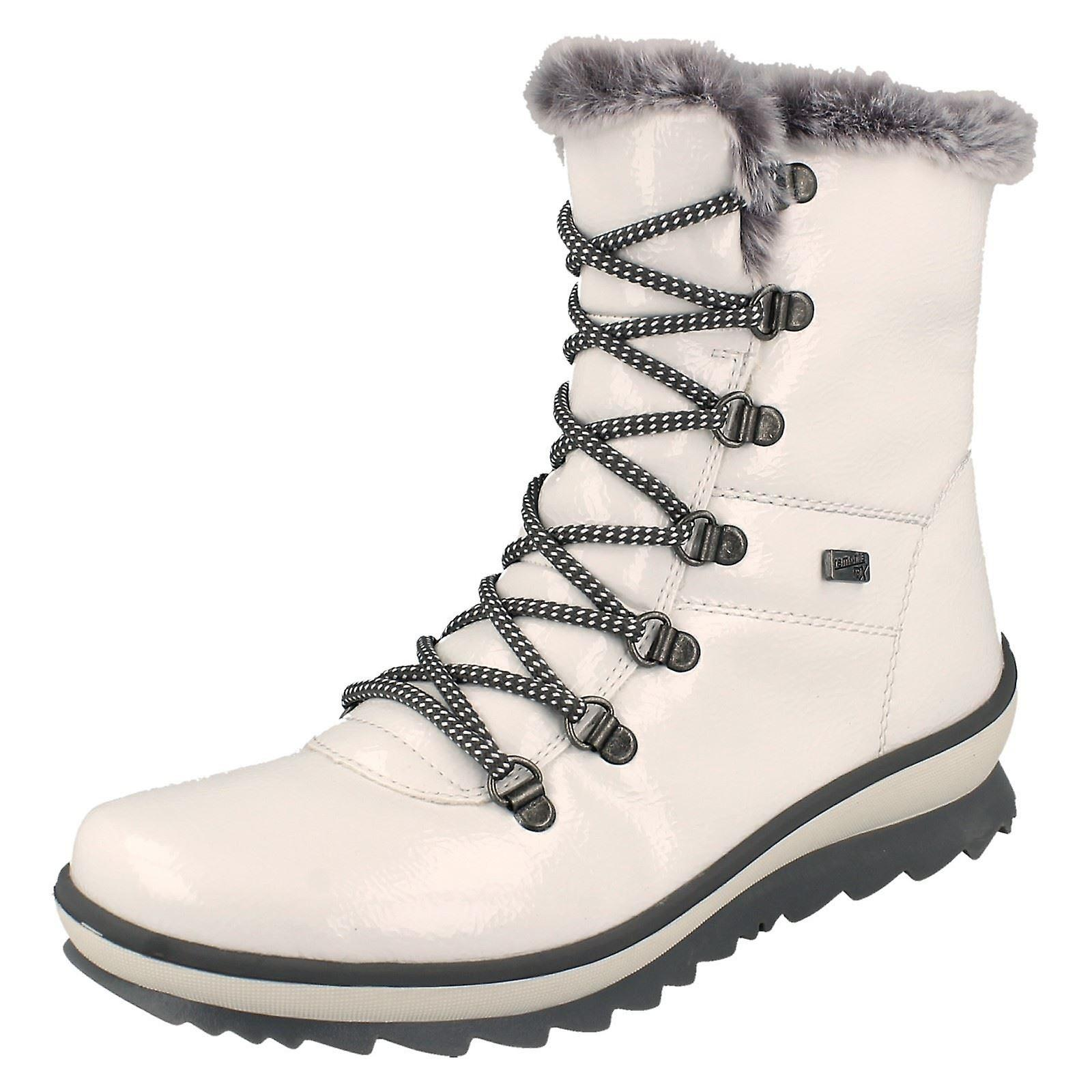 Ladies Remonte Warm Lined Boots R8472 opnlX