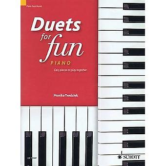 Duets for Fun Piano  Easy Pieces to Play Together Piano Four Hands by Hal Leonard Publishing Corporation & Edited by Monika Twelsiek