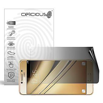 Celicious Privacy 2-Way Landscape Anti-Spy Filter Screen Protector Film Compatible with Samsung Galaxy C7