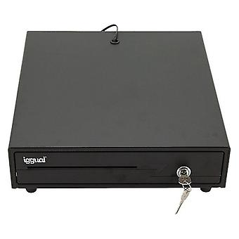 IRON-10 Black iggual cash register drawer