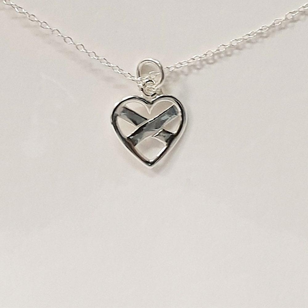 The Silver Studio Love Scotland Pendant