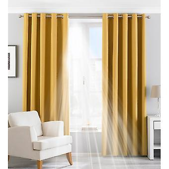 Riva Paoletti Eclipse Ringtop Eyelet Curtains