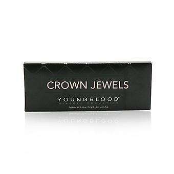 Youngblood 8 Well Eyeshadow Palette - # Crown Jewels - 8x0.9g/0.03oz