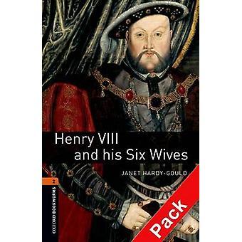 Biblioteca Oxford Bookworms Level 2 Henry VIII e suas seis esposas CD de áudio Pack por Janet Hardy Gould