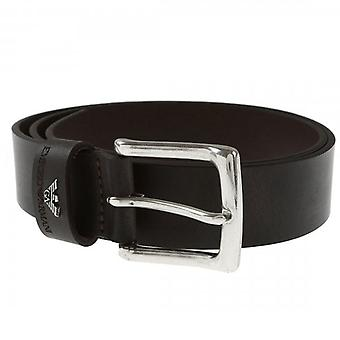 Emporio Armani Buckle Belt Dark Brown Y4S198 YDD4G