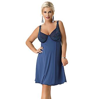 Nessa Women's Marie Blue Non-Padded Underwired Nightdress