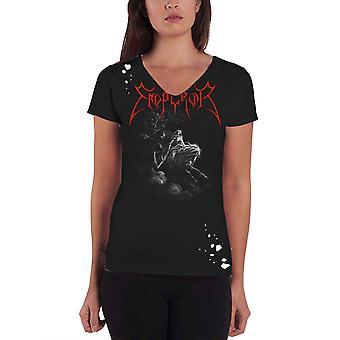 Keizer T shirt Rider band logo officiële Womens noodlijdende choker