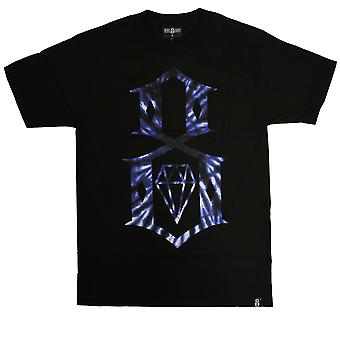 Rebel8 Tie Dye Logo T-shirt Black
