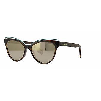 Marc Jacobs Marc 301/S 086/UE Dark Havana/Grey-Ivory Mirror Sunglasses