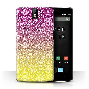 STUFF4 Case/Cover for OnePlus One/Damask/Ombre Fashion