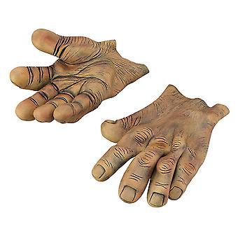 Bristol Novelty Unisex Adults Giant Vinyl Hands (1 Pair)