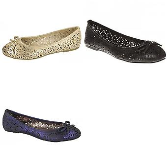 Spot på dame/kære Slip på sommeren Ballerina sko