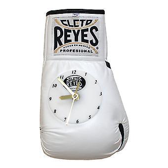 Cleto Reyes 10 oz autentisk pro kamp skinn klokke hanske - hvit