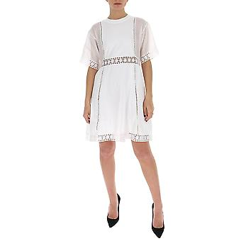 See By Chloé Chs20ujr23082109 Women's White Cotton Dress