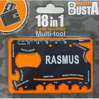 Multitool Multitool RASMUS luottokortti pankkikortti