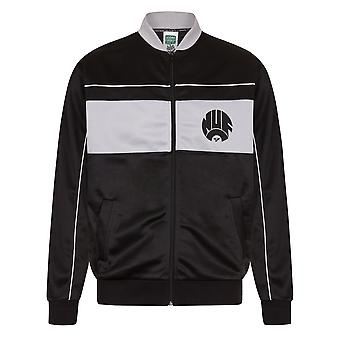 Newcastle United FC Official Football Gift Mens 1984 Retro Track Jacket