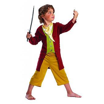 The Hobbit Childrens/Kids Bilbo Baggins Costume