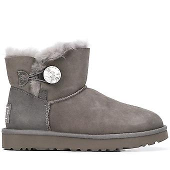 Mini Bailey Button Bling II Grey Boots