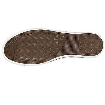 Dek Womens/Ladies Washed Canvas Trainer Shoe