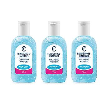 3-pack Cleansing Hand Gel With Alcohol 50ml