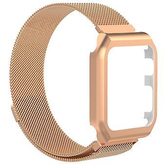 Bracelet Apple Watch 1/2/3 avec cadre d'affichage Milanesisk boucle 38 mm