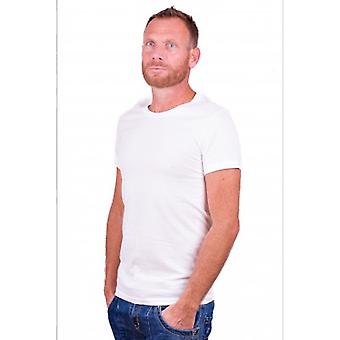 Alan Red James T-Shirt  White (6660) Two Pack