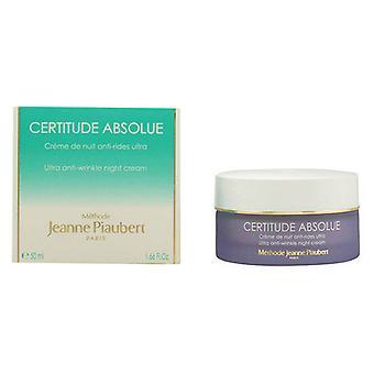 Night Cream Certitude Absolue Soin Jeanne Piaubert