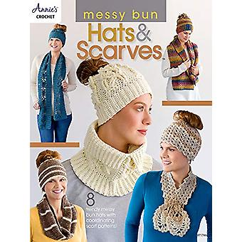 Messy Bun Hats & Scarves - 8 Trendy Messy Bun Hats with Coordinati