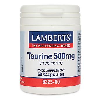 Lamberts Taurine 500mg Capsules 60 (8325-60)