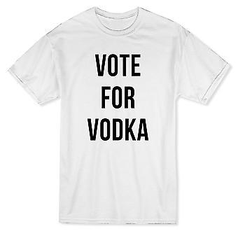 Rolig röst för Vodka grafisk mäns T-shirt