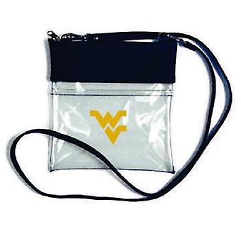 West Virginia Mountaineers NCAA Clear Gameday Crossbody Purse