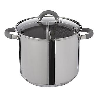 Cook Stainless Steel Grey Pot, L22xP29xA19 cm