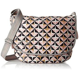 Oilily Lori Geometrical Shoulderbag Lhf - Women's Pink Shoulder Bags (Rose) 14x29x40 cm (B x H T)