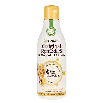 Hair Mask ORIGINAL REMEDIES leche y miel Garnier (300 ml)