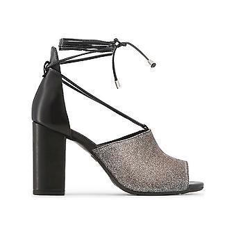 Made in Italia - Schuhe - Sandalette - AMALIA_NERO_BRONZO_ARGENTO - Damen - black,gold - 39
